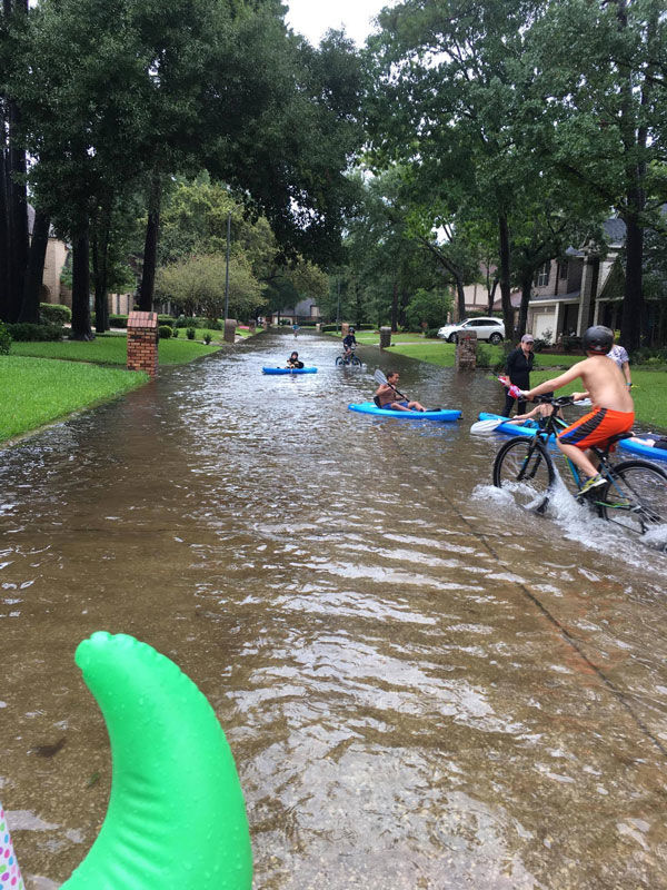 Column: Hurricane Harvey was 'like something out of a movie'