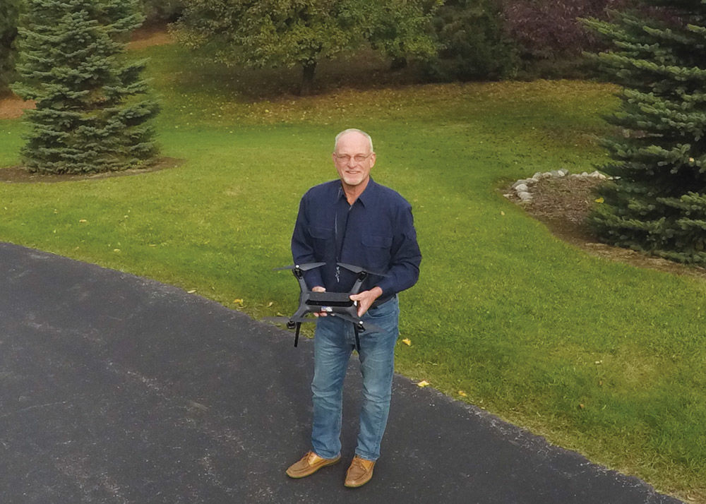 Your eye in the sky: Sky Shots brings affordable aerial photography to Ripon utilizing a drone
