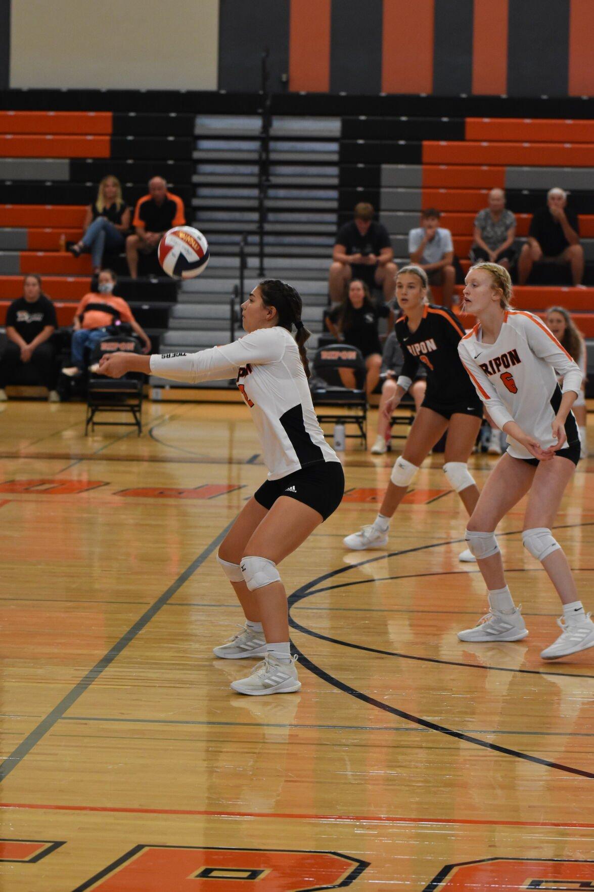 Ripon High School volleyball at Tiger Invitational — Sept. 11, 2021 (19).JPG