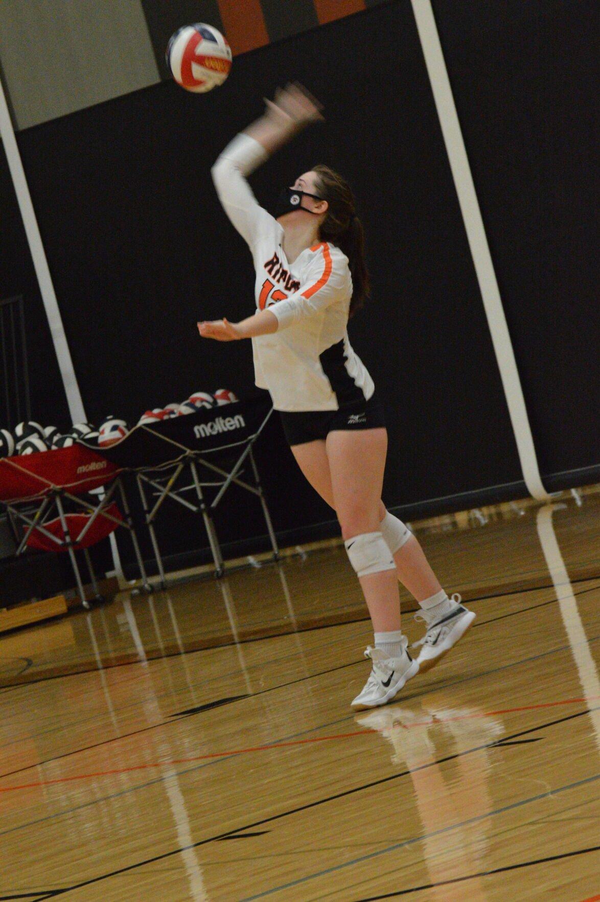 Ripon Tiger volleyball vs. Princeton/Green Lake-3
