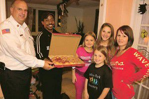 The hottest pizza in town? Firefighters, local businesses team up for CO awareness