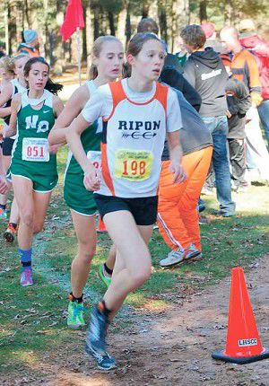 Cross country: Cunningham places 47th at state