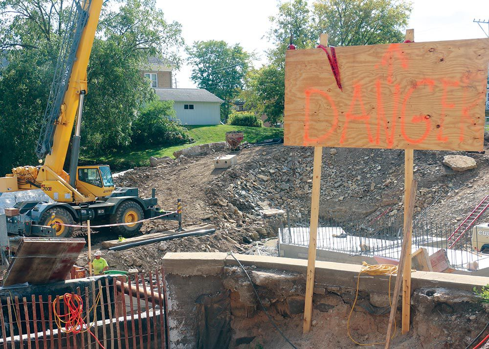Mill Pond dam likely won't be done this year