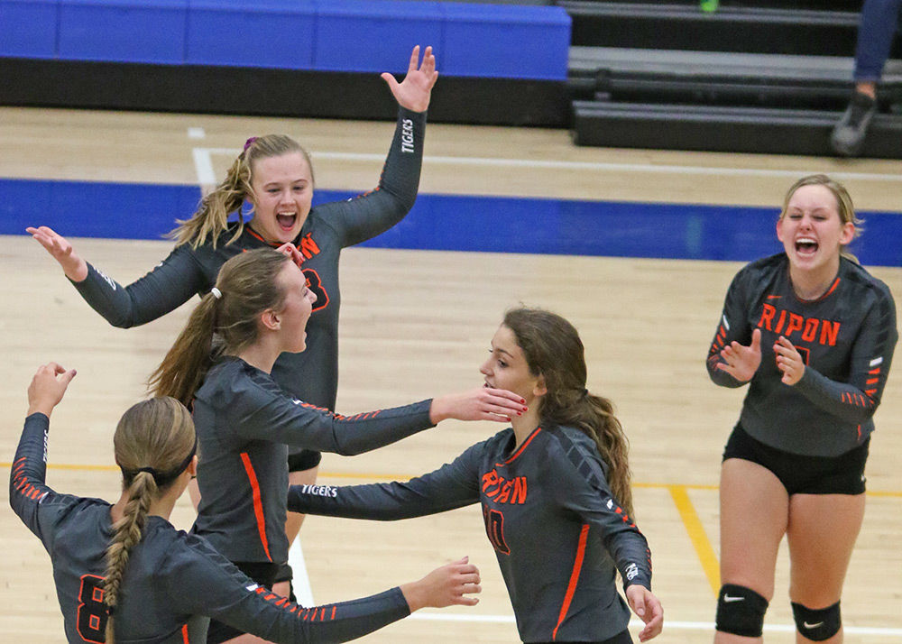 Consistency plagues Ripon spikers at DeForest Invite