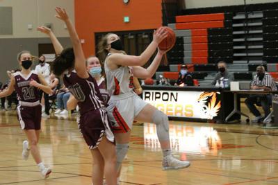 Ripon High School girls' basketball vs. Winneconne — Jan. 15, 2021