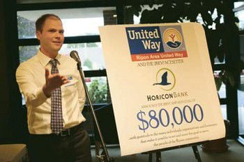 Ripon Area United Way goal? $80,000 - again