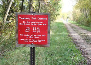 Area trail route will be safer