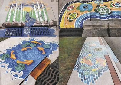 Green Lake Common Council gives preliminary approval for storm drain murals-1
