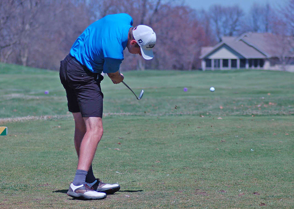 Tiger golf team hurt by a couple bad holes, finishes seventh at KML mini-tour stop