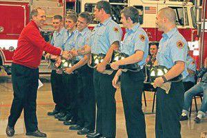 Hello, goodbye firefighters (VIDEO)