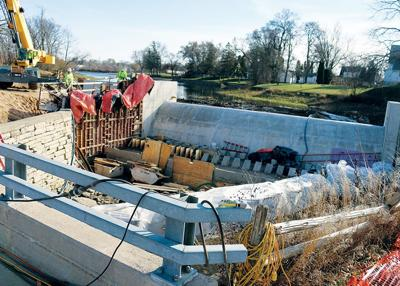 Dam rebuild expected to be substantially done this year