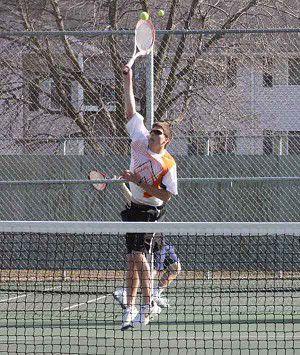 Tennis wins close match over Chilton