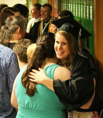 Graduates bid farewell to Green Lake High