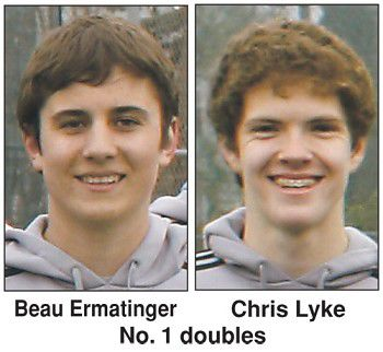 Out-experienced: Ripon's top doubles team falls 6-1, 6-0 at sectionals