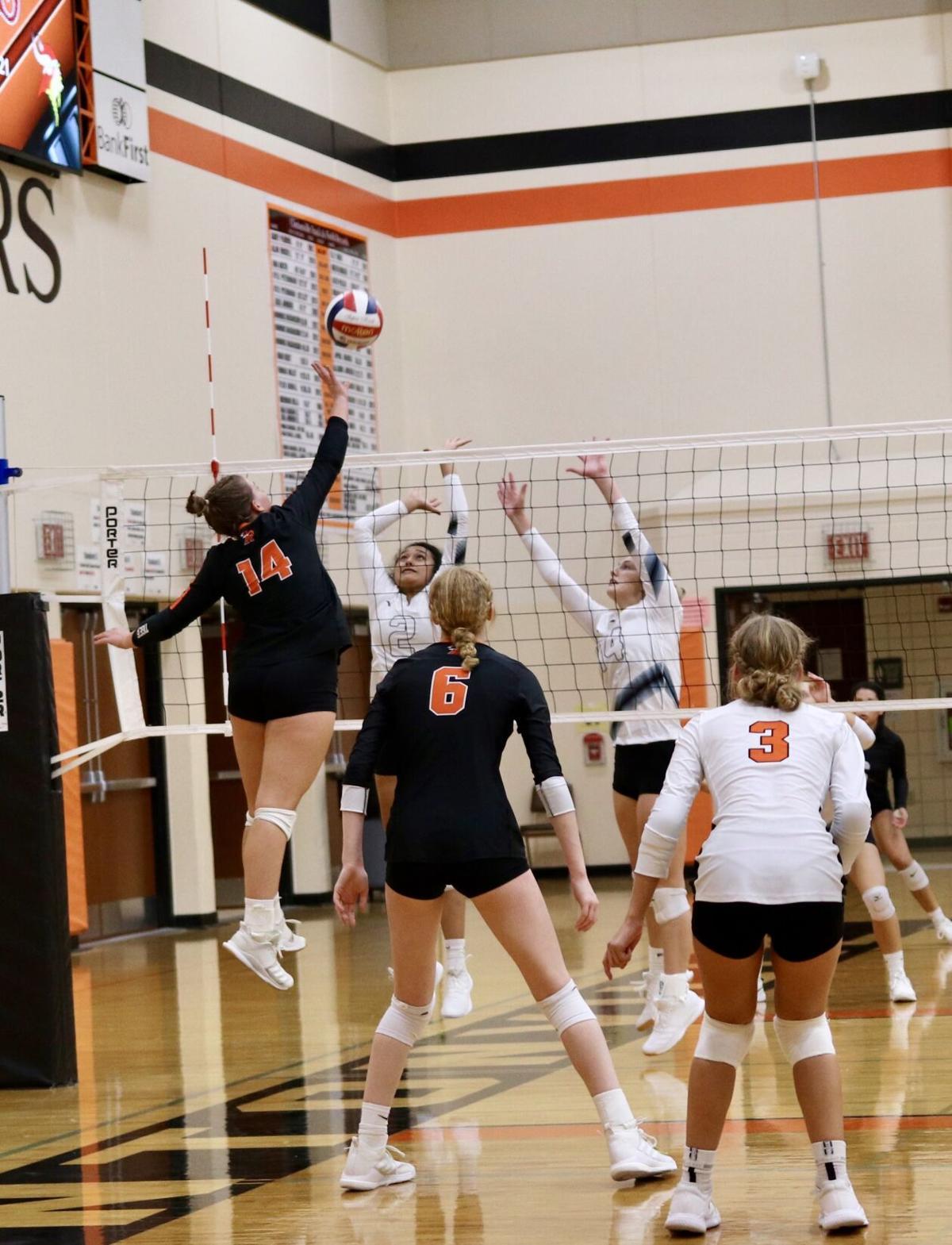 Ripon High School volleyball at Clintonville Invitational — Sept. 18, 2021.jpg