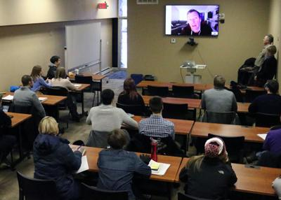 Ripon College students Skype with best-selling author Desmond