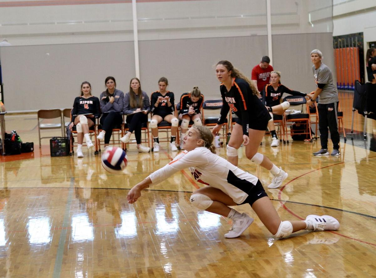 Ripon High School volleyball at Clintonville Invitational — Sept. 18, 2021 (1).jpg