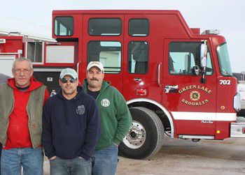 New Green Lake fire truck sees first solo action