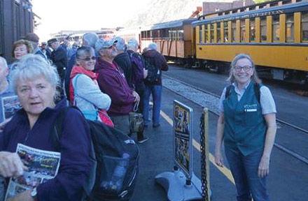 Column: All aboard! Ripon native greets neighbor on a Colo. train
