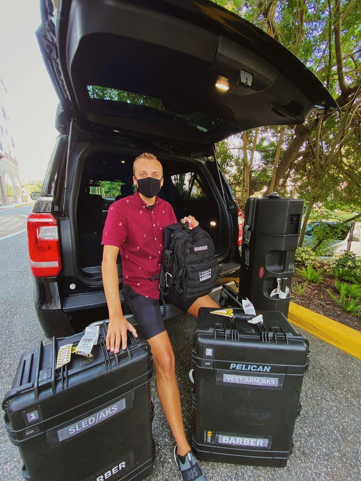 Kenton Barber Luggage