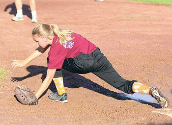 Ready and eager: Girls' Minor League plays despite rain