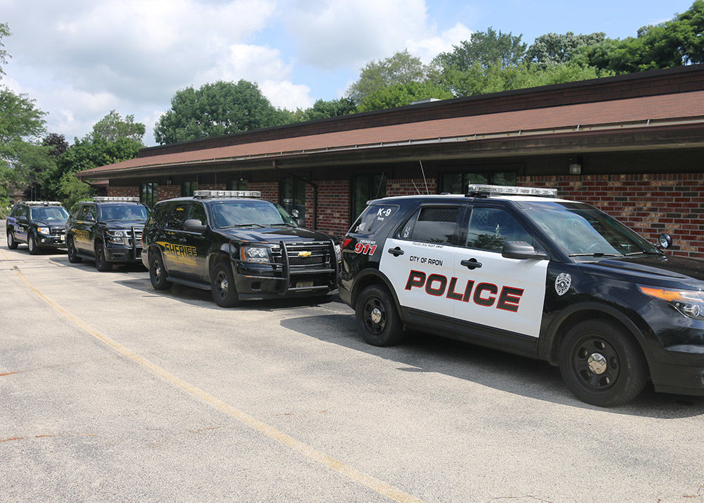Dog days of summer: Police K-9s train at old clinic
