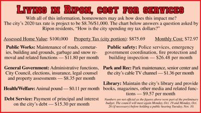 Living in Ripon, Cost for Services