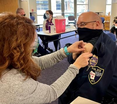 Ripon area emergency personnel begin receiving the COVID-19 vaccine