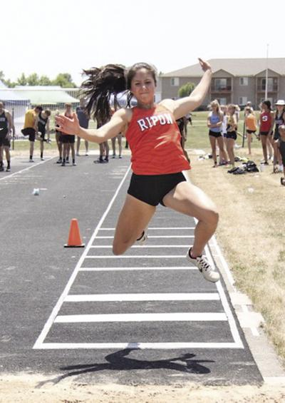Ripon High School track and field at Waupun Sectional — June 17, 2021 (12).tif