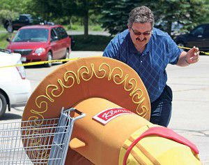 Column: Freeing Chorizo from a cart not on brat-ty brother's grocery list