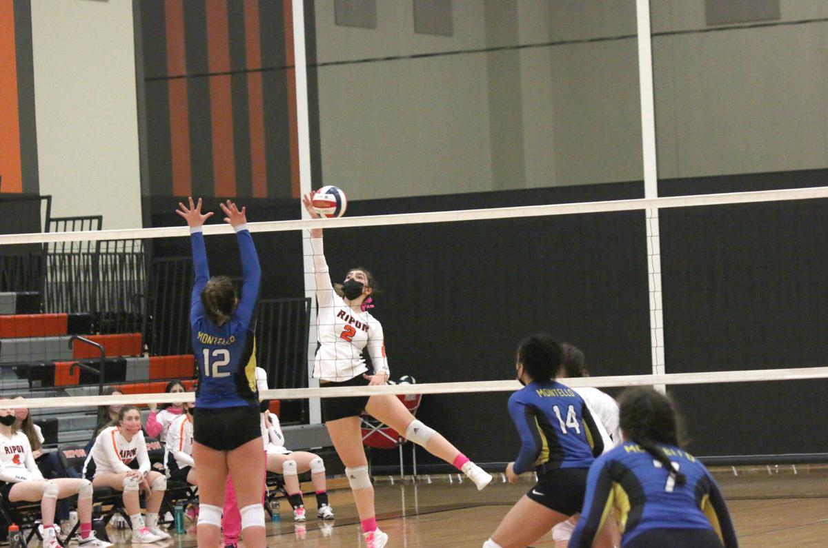 Ripon High School volleyball vs. Montello — March 29, 2021 (1).JPG