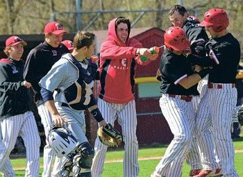 A hard-earned victory shower: Hawks sweep four-game series with Lawrence