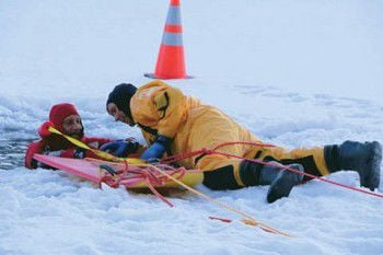 The ice is getting thin, but the RAFD now has equipment in case someone falls through (VIDEO)