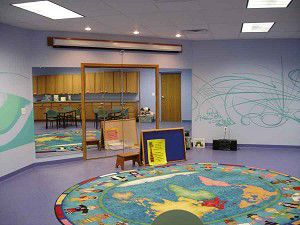Open house celebrates new storytime space