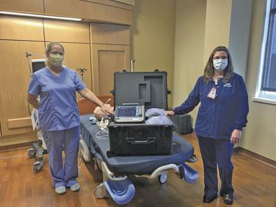 Ripon Medical Center ventilator