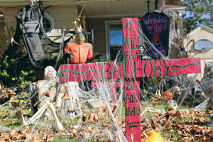 Column: Once a year, Dawn Kling lives at Ripon's creepiest address