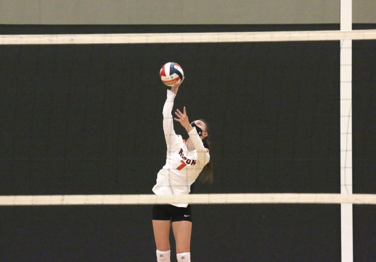 Ripon High School volleyball vs. Mayville — March 16, 2021.JPG