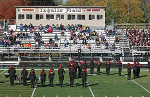 Bands play on: Music floods Ingalls Field for special performances