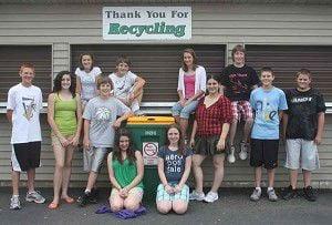 Students help Ripon GO GREEN
