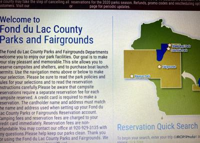 County campgrounds also now shut down