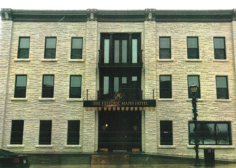 Mapes Hotel project expected to be done by spring