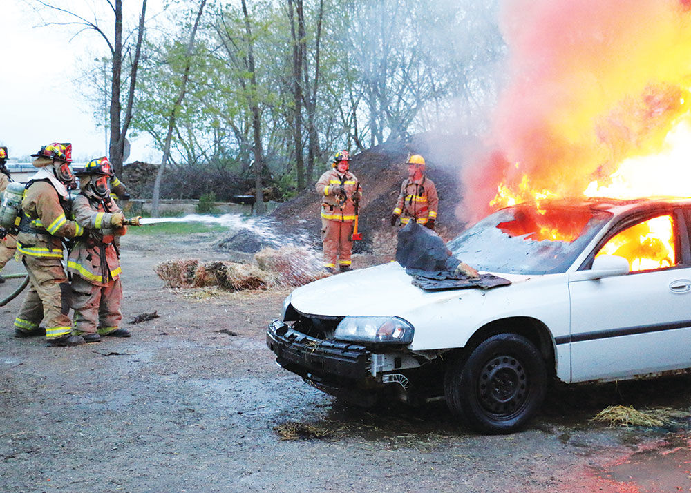 Real fires! (Just not real firefighters)