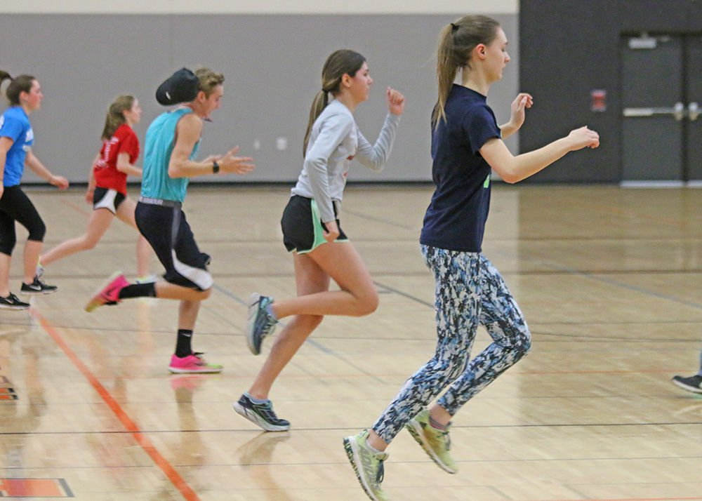 Off and running: Track and field begins practice