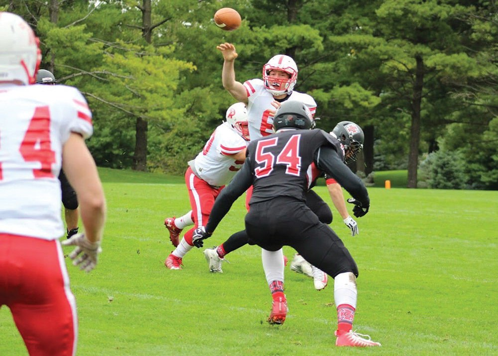 Late score is only blemish in blowout win for RC football