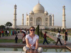 Student finds beauty, heartache in trip around the world