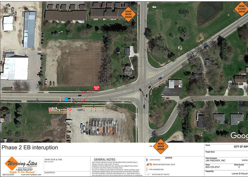 Road repairs lead to sudden closures