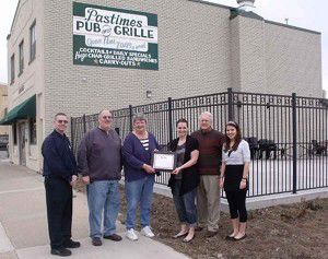 Pastimes honored for steps taken to prevent underage drinking