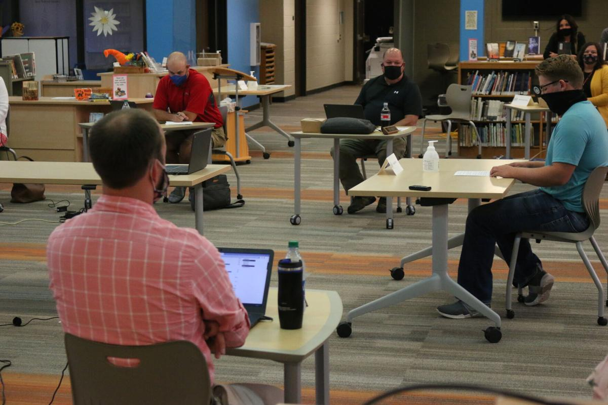 Ripon School Board mask discussion