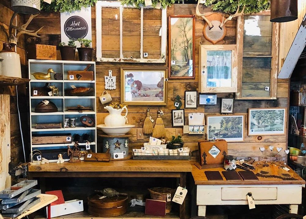 Hand-crafted, vintage products coming to Hart Mercantile
