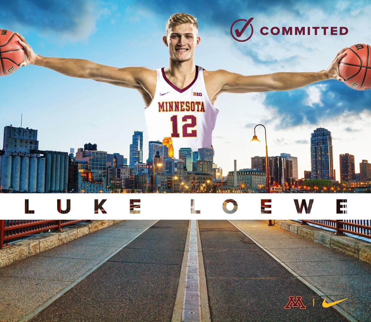 Luke Loewe Minnesota Gopher